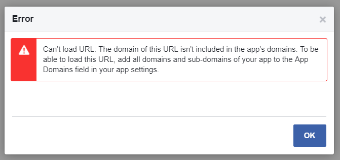 Can't Load URL