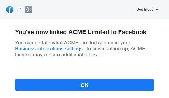 Facebook Access Token Step 4