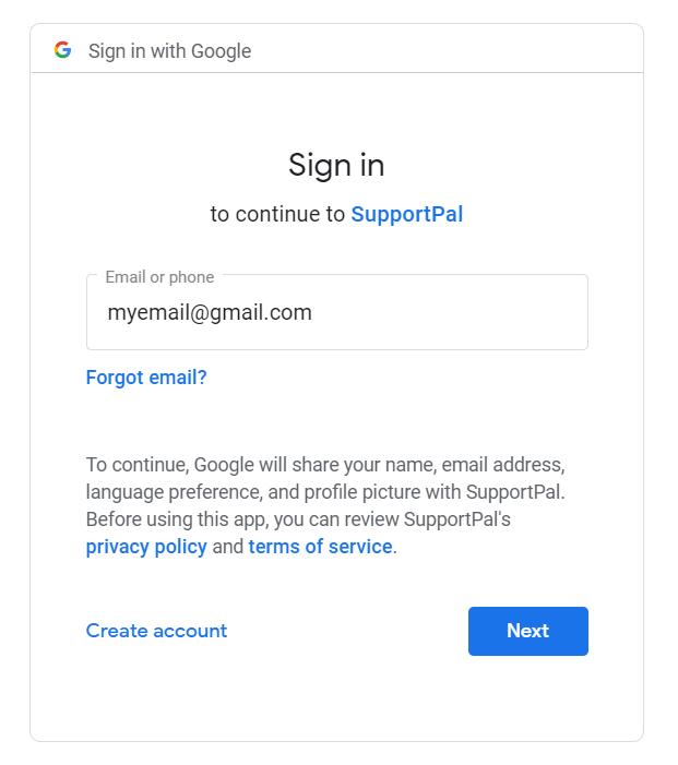 Google OAuth Popup