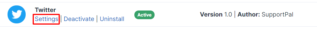 Twitter Third-Party Integration
