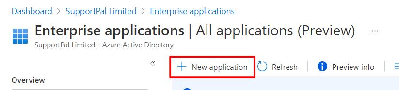 Microsoft 365 - New Application