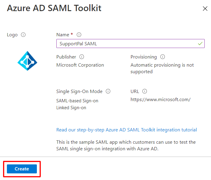 Microsoft 365 - Azure AD SAML Toolkit