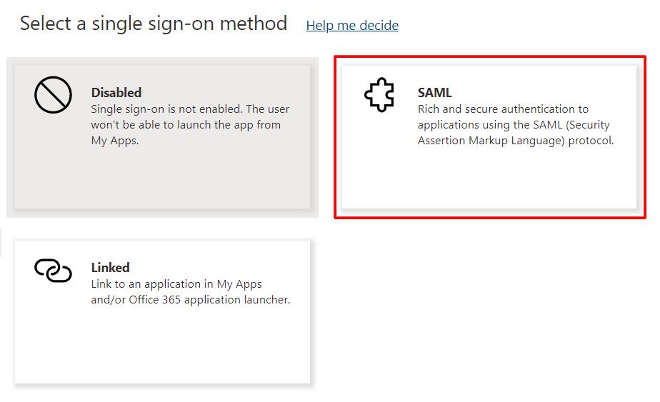 Microsoft 365 - SAML